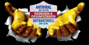 Big Wipes sind antiviral